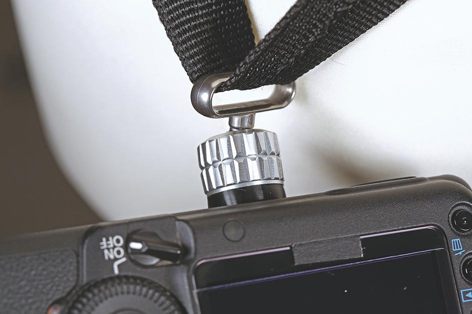 <ロタボール プロ>一眼レフ1台用カメラストラップ